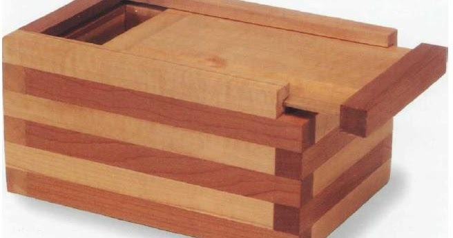 Laminated keepsake box cool wood projects to build