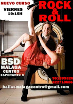CURSO DE ROCK&ROLL INTENSIVO INICIAL EN JUNIO EN BSD MÁLAGA CENTRO.