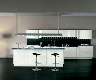 Rumah rumah minimalis kitchen cabinets designs modern homes for Kitchen cabinet murah