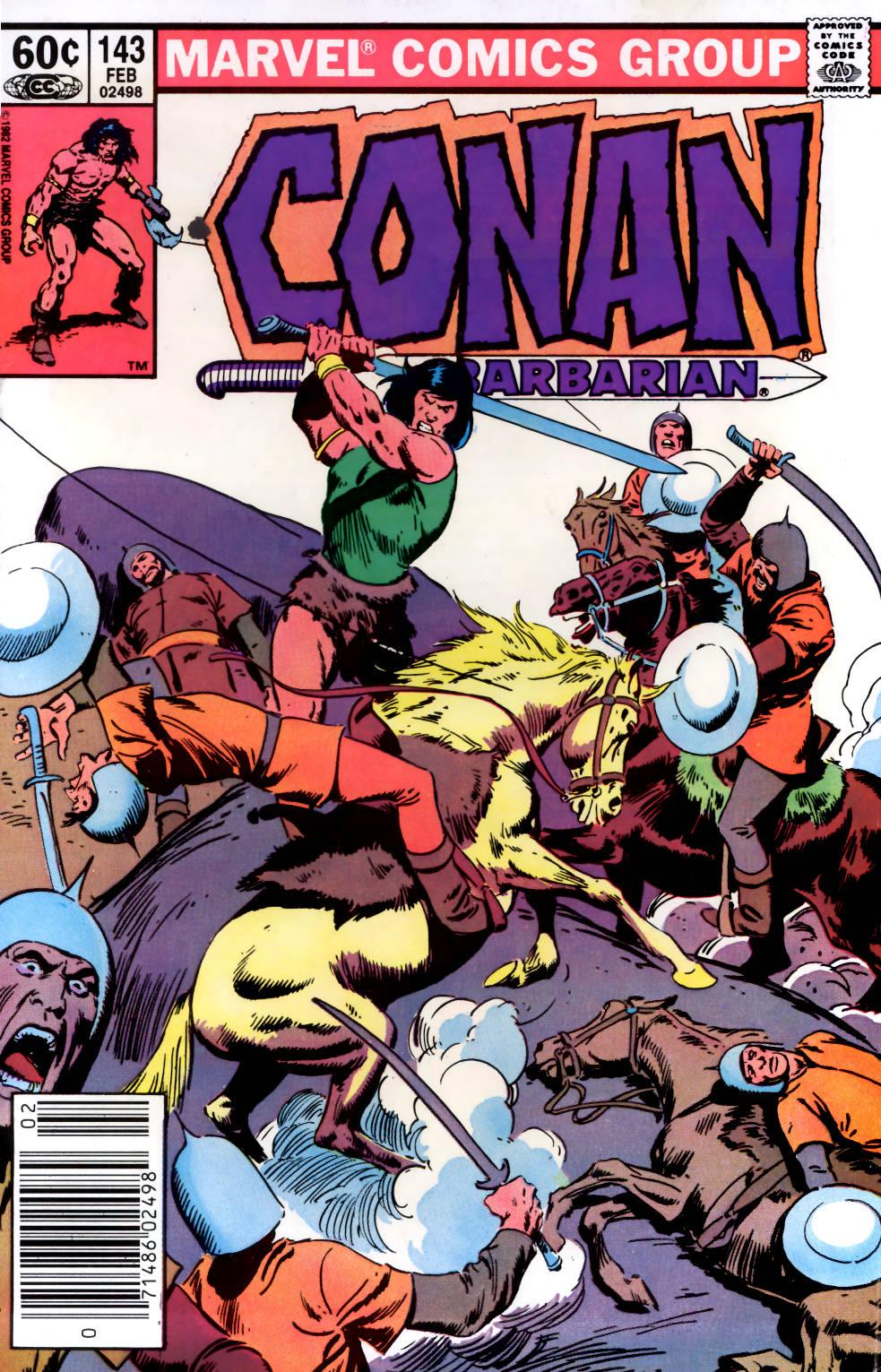 Conan the Barbarian (1970) Issue #143 #155 - English 1