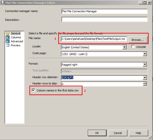how to create manifest file in ssis