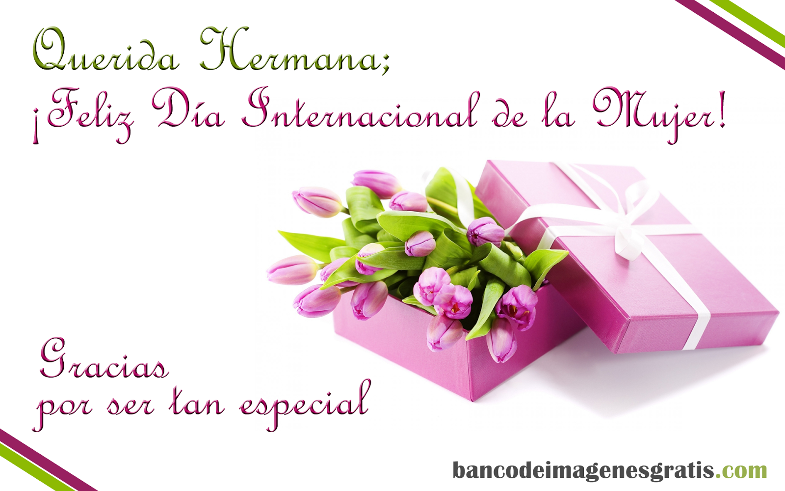 DIA DE LA MUJER ღ˛° on Pinterest | Dia De, Happy Women and Women ...