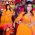 Dil Raju Daughter Yellow Churidar
