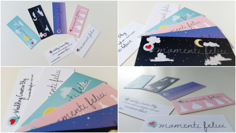 Connu Momenti Felici: Dalle weddingcard alle businesscard VW37