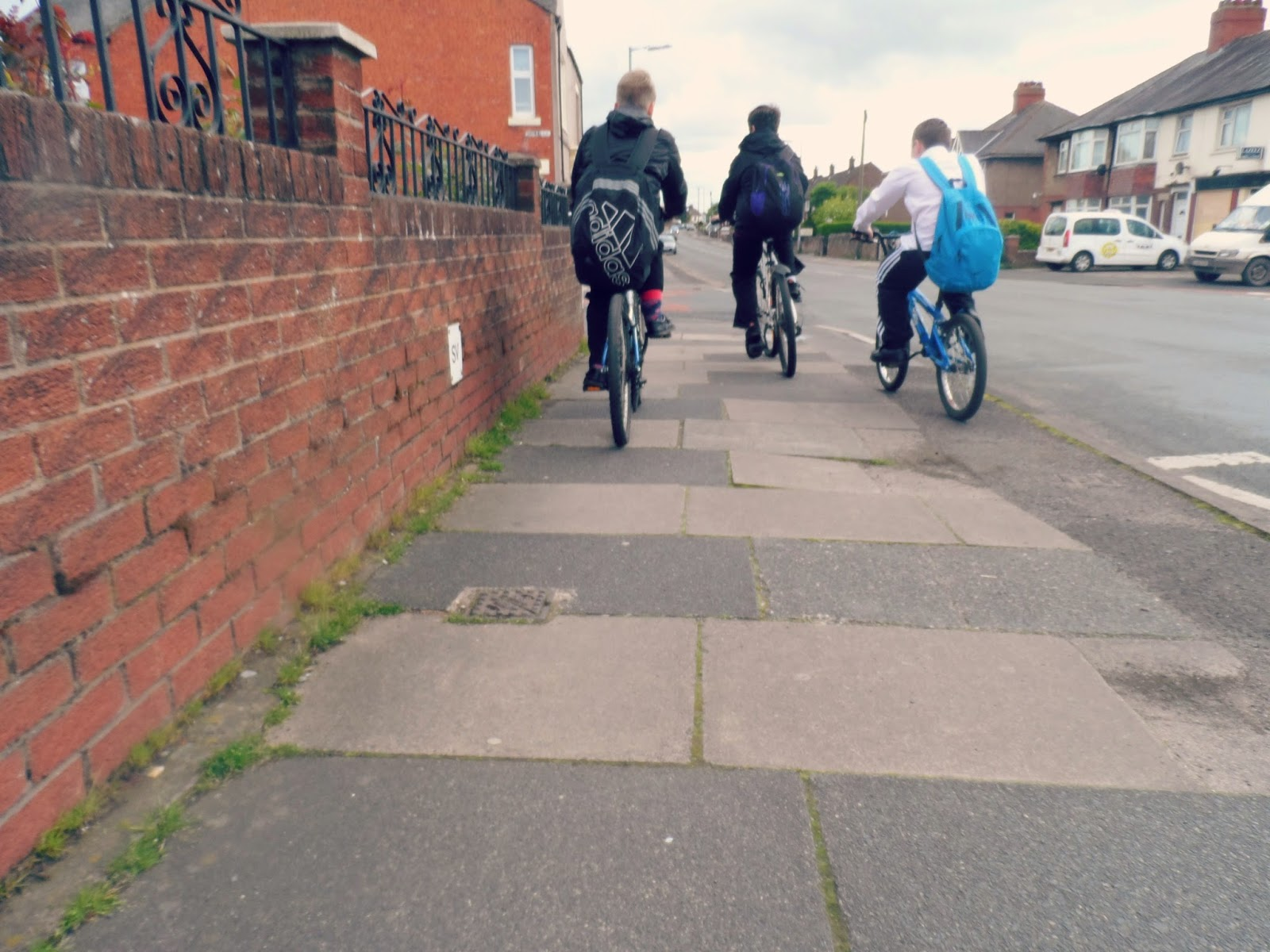 A photographic essay of a journey home from school taken from the child's point of view.