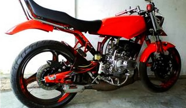Foto Modifikasi Motor Rx King Cobra