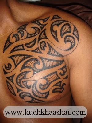 Maori Tribal Half Sleeve Tattoos Design