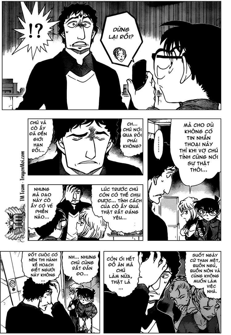 Detective Conan - Thám Tử Lừng Danh Conan chap 803 page 11 - IZTruyenTranh.com