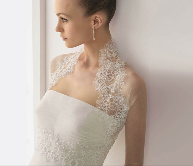 dress of the week rosa clara wedding tops belle the