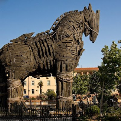 The Legend of the Trojan horse