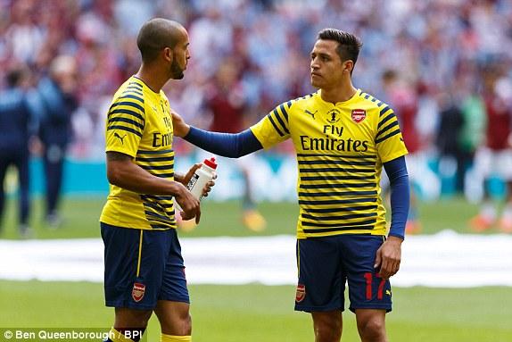 Alexis Sanchez mencetak Goal pemenang untuk Arsenal 2 – 0 melawan Aston Villa