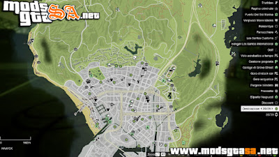 V - Novas Cores do Mapa GTA V PC