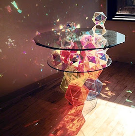 sparkle cocktail table