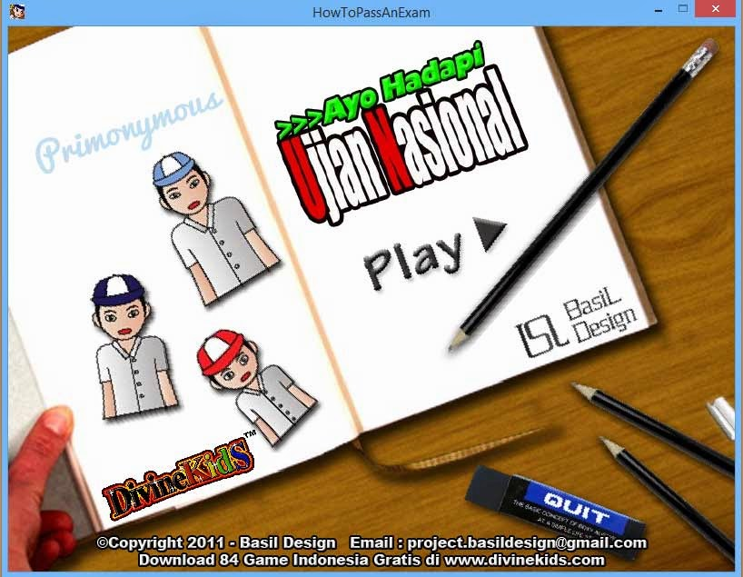 Download Game Hadapi Ujian Nasional