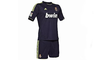 new away jersey kit real madrid