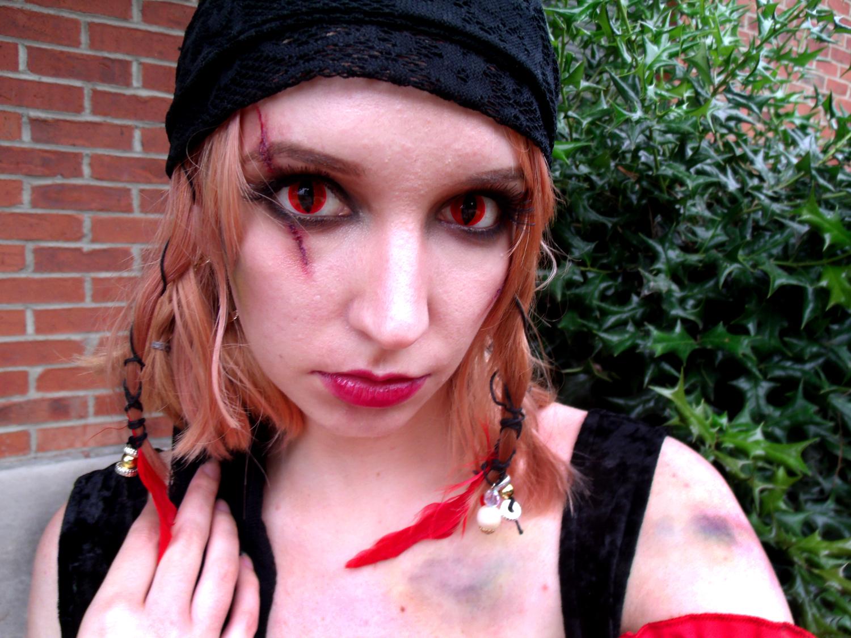Pirate Wench Eye Makeup