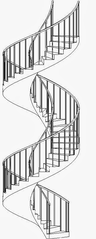 Revitcat Spiral And Curved Revit Stairs