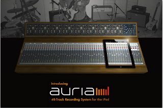 Aurea 48 Track Recording System for the iPad