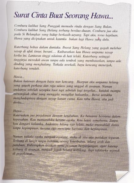 indonesia contoh naskah contoh surat pantun puisi sabtu 01 juni 2013