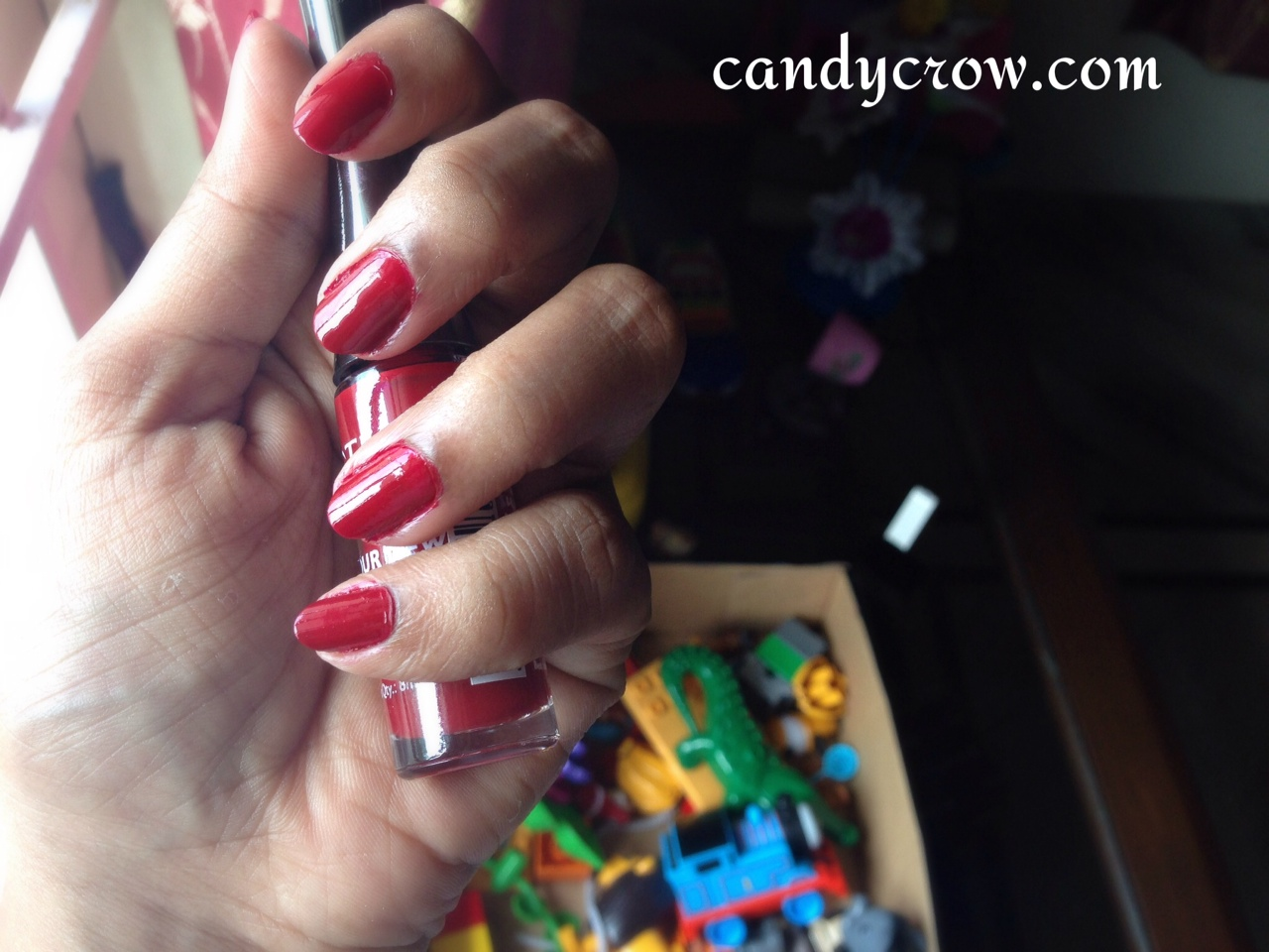 Lotus Nail Enamel Review - Red Chilli | Candy Crow | Top Indian ...