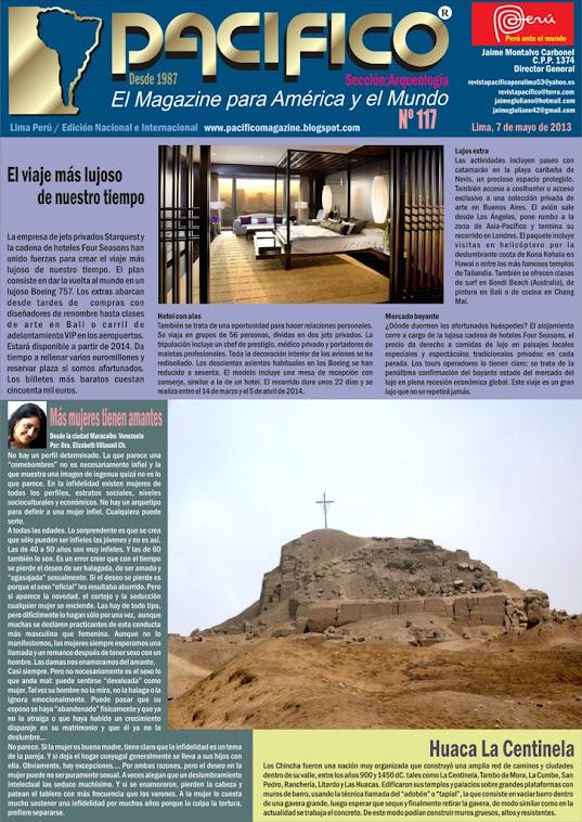 Revista Pacífico Nº 117 Arqueología