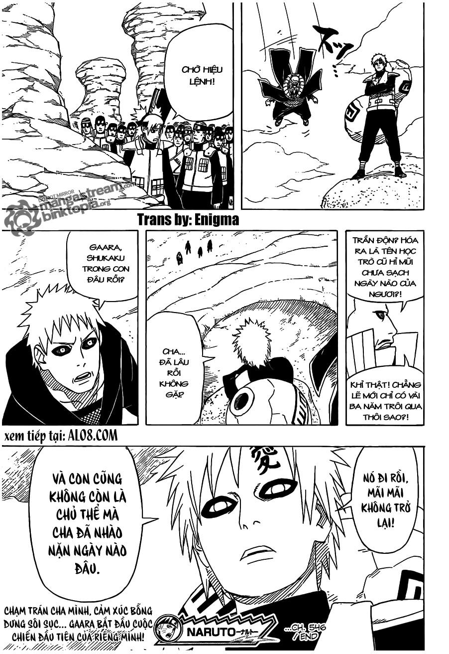 Naruto chap 546 Trang 16 - Mangak.info