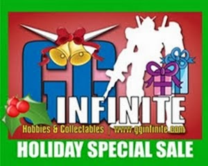 GG INFINITE Holiday Sale 2013