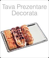 Tava Otel Inoxidabil, Tava Inox, Tava Dreptunghiulara, Tava Ornata