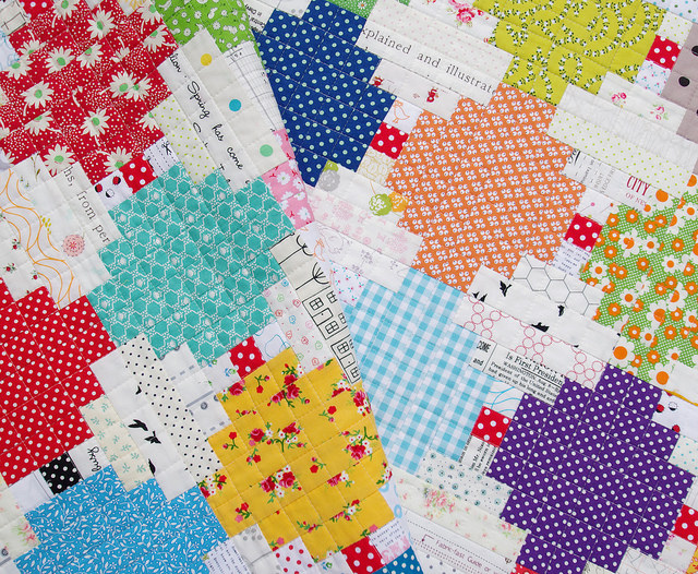 Courthouse Steps Quilt | Red Pepper Quilts