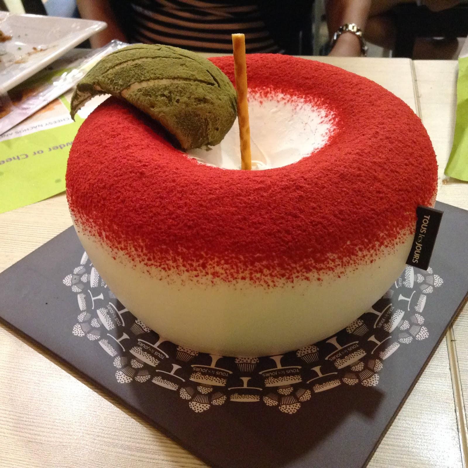 Tous Les Jours apple cake