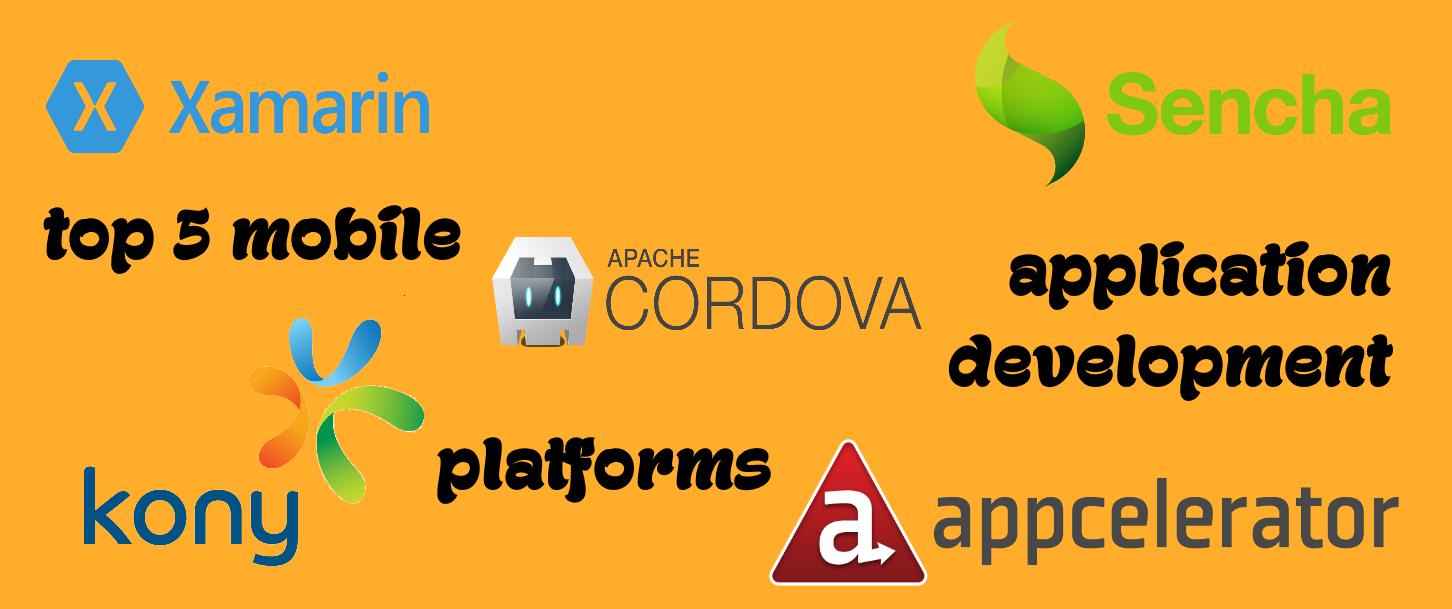 Top 5 Mobile Application Development Platforms | Mobile ...