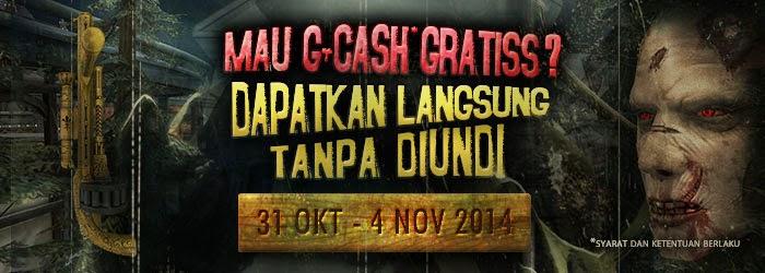 Point Blank Bagi Gemscool Cash Gratis (G-Cash Back)