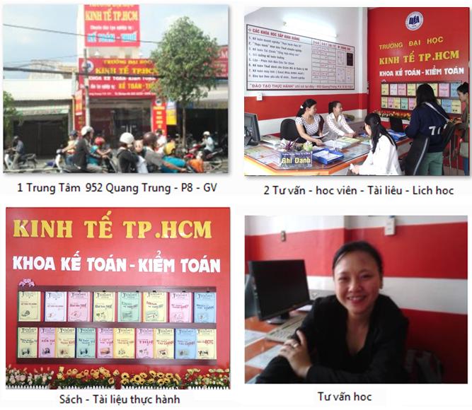 Đại học Kinh Tế tp.HCM  - Cơ sở  Học : 952 Quang Trung, P8, Gò Vấp.