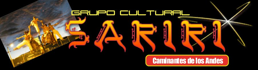 GRUPO CULTURAL SARIRI