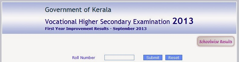 KERALA GOVERNMENT: DHSE and VHSE First Year Improvement ...