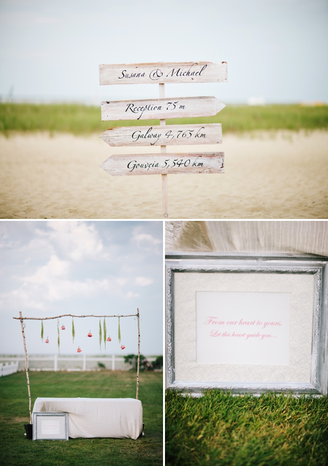 Susana and Michael's gorgeous Cape Cod wedding details by STUDIO 1208