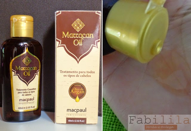 Marrocan Oil - Mac Paul