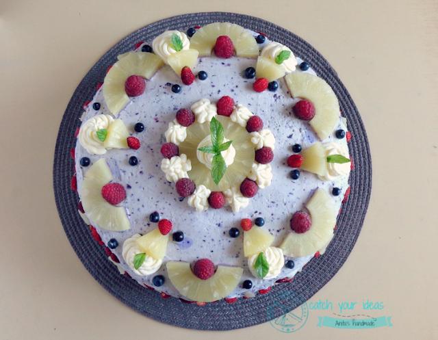 tort, urodzinowy tort, birthday cake
