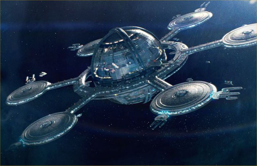 sci fi space stations - photo #46