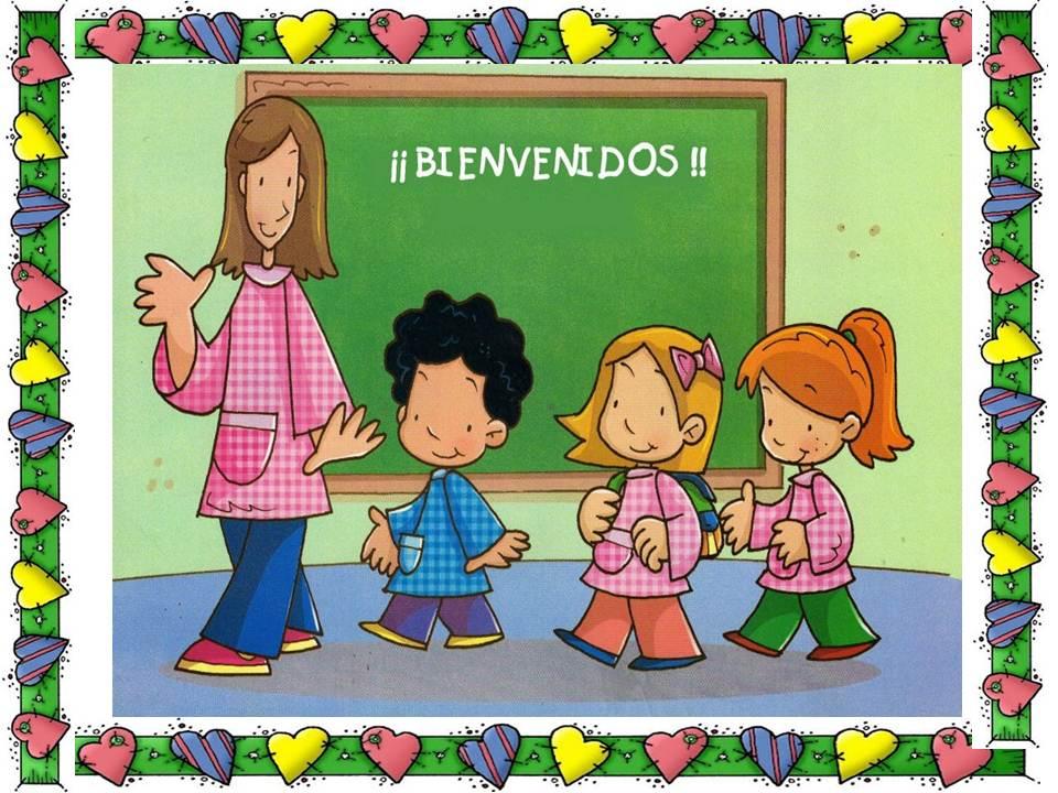 Maestra Asuncin HERMOSOS CARTELES DE BIENVENIDA