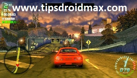 Download Need for Speed Carbon - Own the City PSP