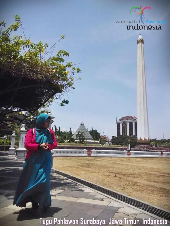Bocah Blora Mustika Wisata Jawa Timur Tugu Pahlawan Dan Museum 10 Nopember Surabaya