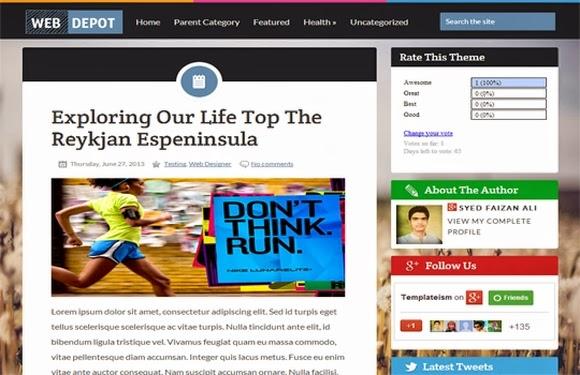 WebDepot Blogger Template