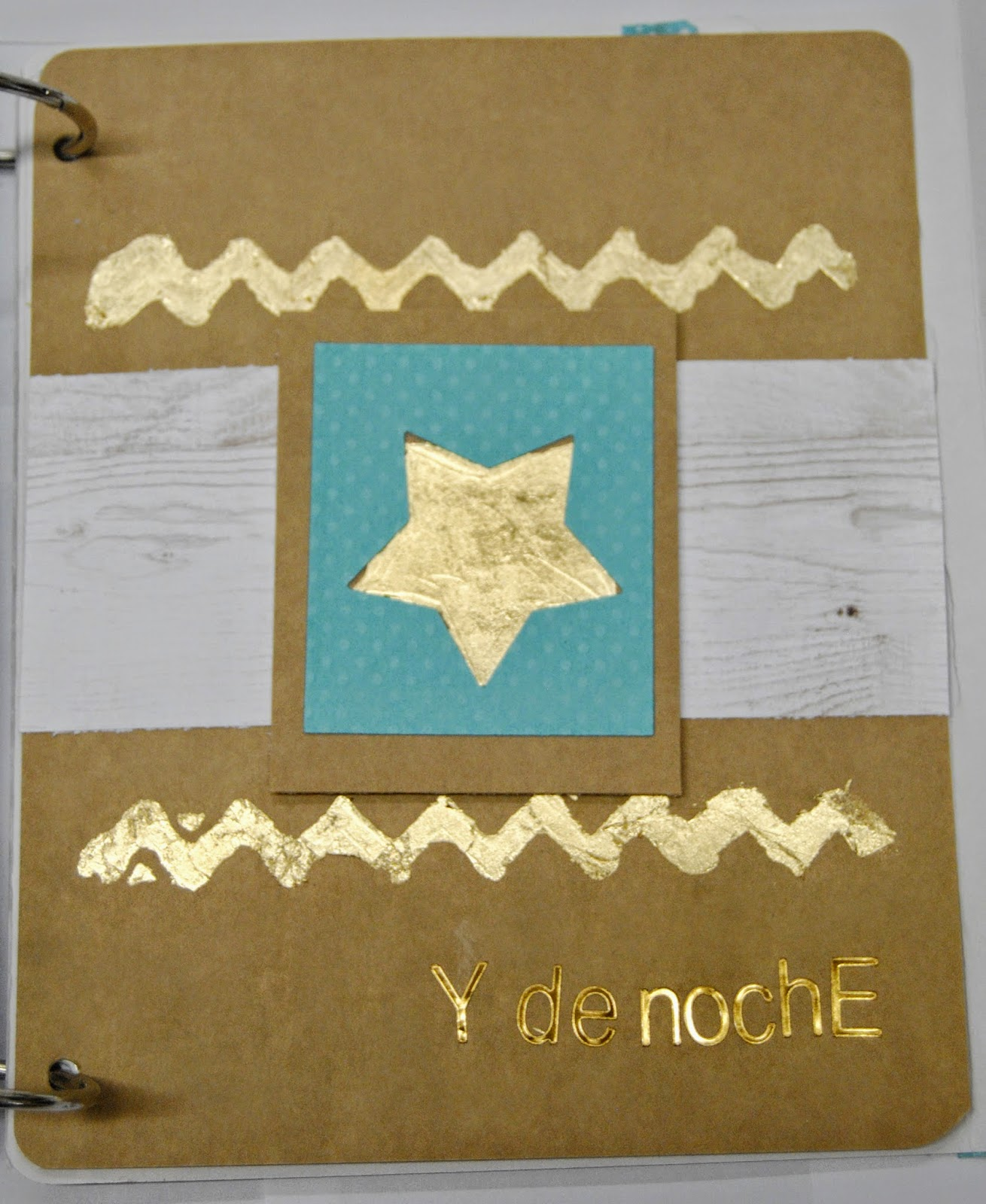 gold leaf, diy, pan de oro, tutorial, scrap,scrapbooking,