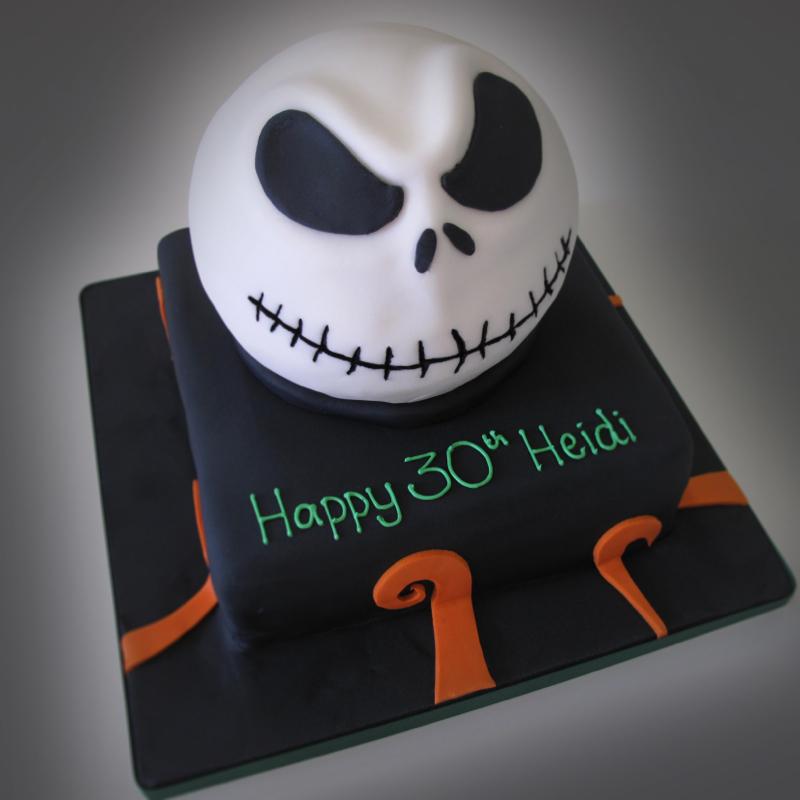 Jack Skellington Cake Crumbs Doilies News