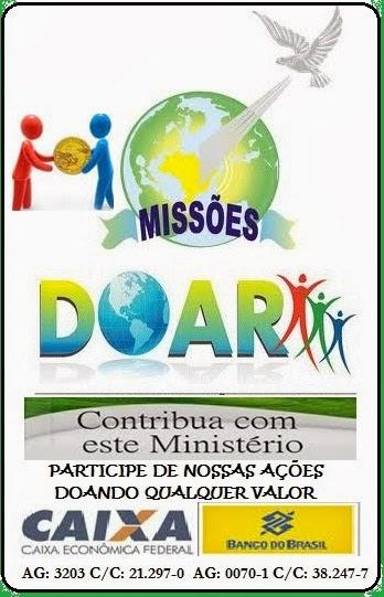 Doação Evangelismo Missões e Ação Social
