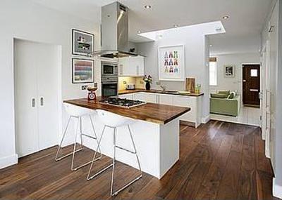 furniture interior membuat dapur kecil tampak lebih luas