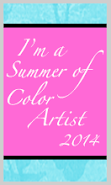 I'm a Summer of Color Artist