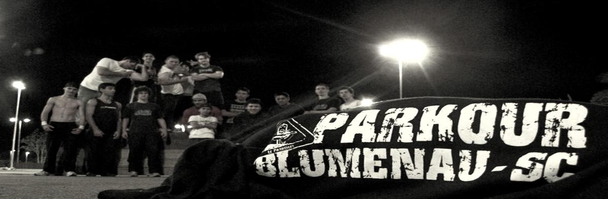 Parkour em Blumenau