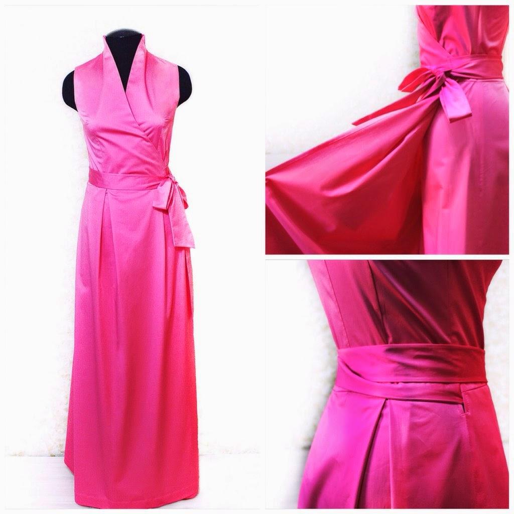 Платье с запахом. Индивидуальный заказ)
